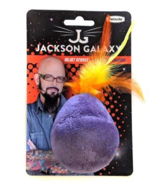 JAXON GALAXY CAT TOY VELVET BOBBLER