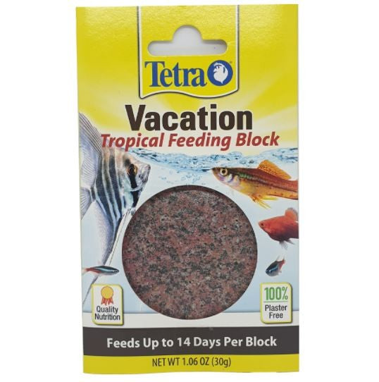 TETRA VACATION BLOCK SINGLE 14 DAY SLOW RELEASE FEEDER 30G