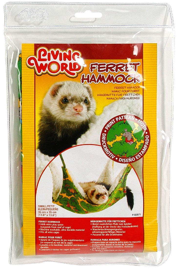 FERRET HAMMOCK LIVING WORLD 35CM