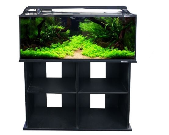 HORIZON 130 AQUARIUM KIT & STAND BLACK