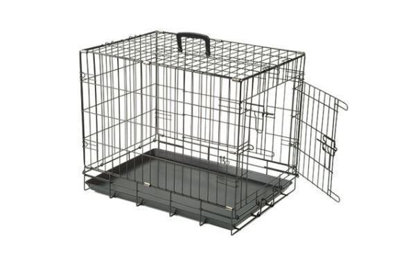 COLLAPSIBLE CRATE 2 DOORS