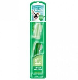 FINGER BRUSH FRESH BREATH FOR DOGS 2PACK
