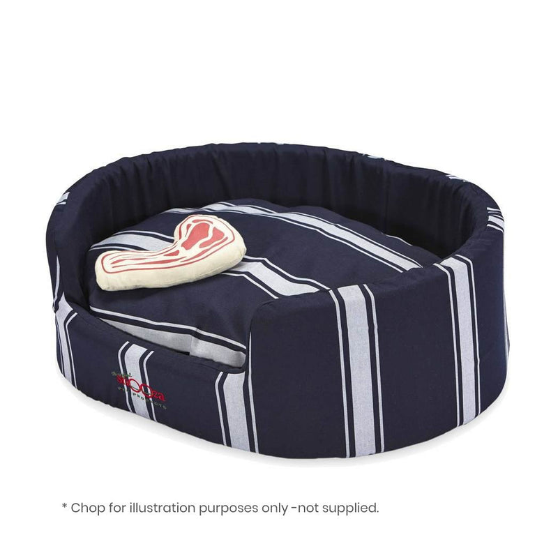 SNOOZA BUDDY BED BUTCHERS STRIPE