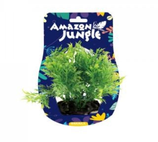 AMAZON JUNGLE WISTERIA BUNCH PLASTIC PLANT 10-12CM