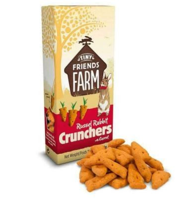 RUSSEL RABBIT CARROT CRUNCHERS 120G