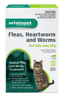 ARISTOPET SPOT ON LG CAT OVER 4KG 3PK