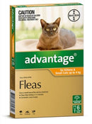 ADVANTAGE KITTEN & CAT UP TO 4 KG