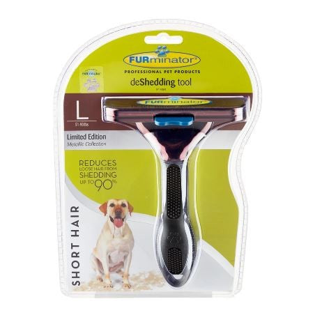 FURMINATOR LARGE SHORT HAIR DOG METALLIC BRONZE