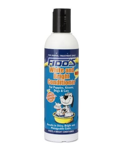 FIDO'S WHITE & BRIGHT CONDITIONER 250ML