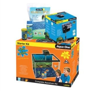 AQUA ONE SPLISH SPLASH STARTER KIT LARGE