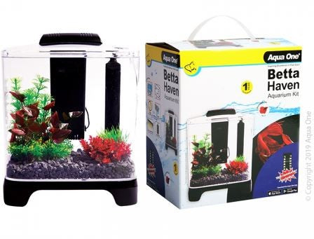 AQUA ONE BETTA HAVEN ACRYLIC AQUARIUM KIT