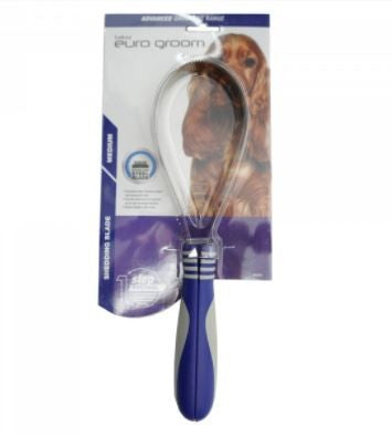 EURO GROOM SHEDDING BLADE MEDIUM