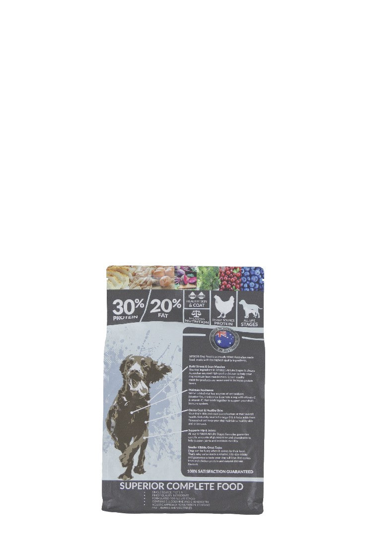 XP3020 EXTRA PREMIUM DOG FOOD 2.5KG