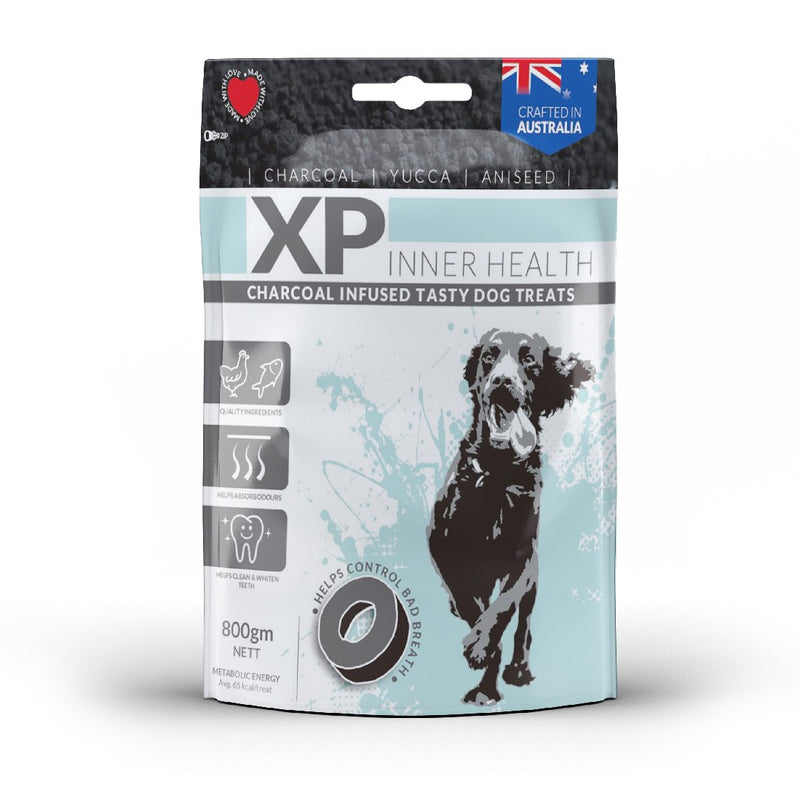 XP INNER HEALTH CHARCOAL TREATS 800G