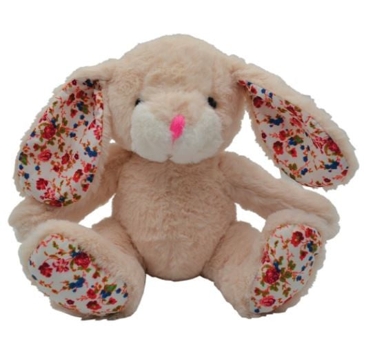 PLUSH SNUGGLE BUNNY CREAM 24CM PRESTIGE PET