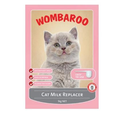 WOMBAROO CAT MILK REPLACER