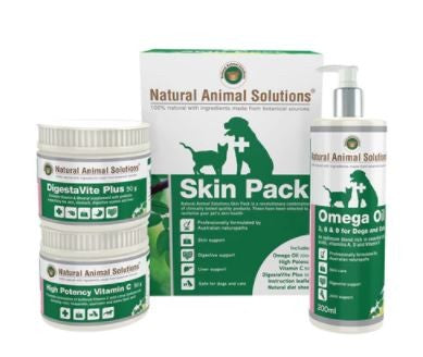 NATURAL ANIMAL SOLOUTIONS SKIN PACK 50G