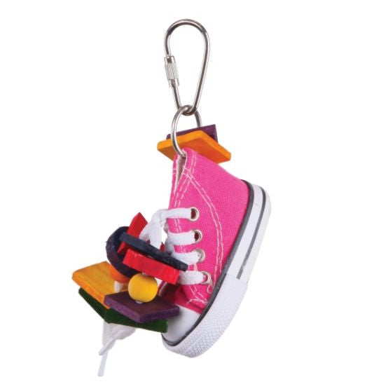 KAZOO BIRD TOY SNEAKER & CHIPS SMALL
