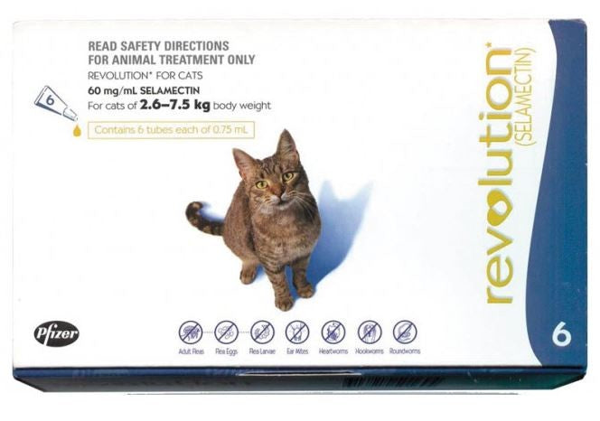 REVOLUTION CAT 2.6-7.5KG
