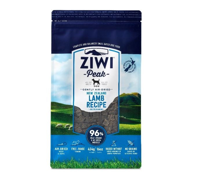 ZIWI PEAK DOG FOOD AIR DRIED LAMB