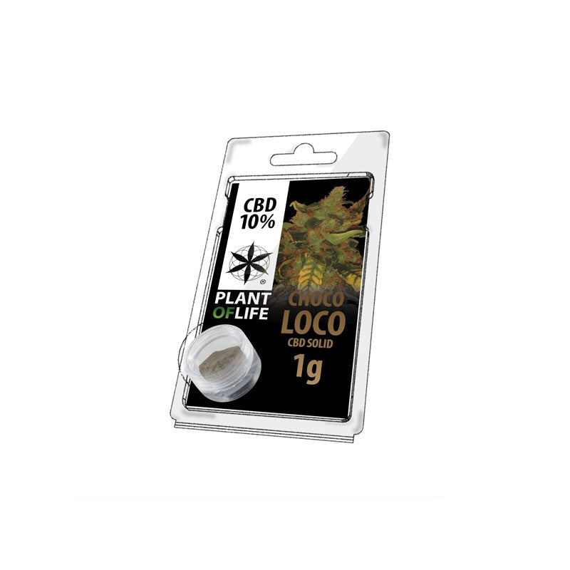 Chocoloco CBD GreenHouse - Résine CBD Plant Of Life