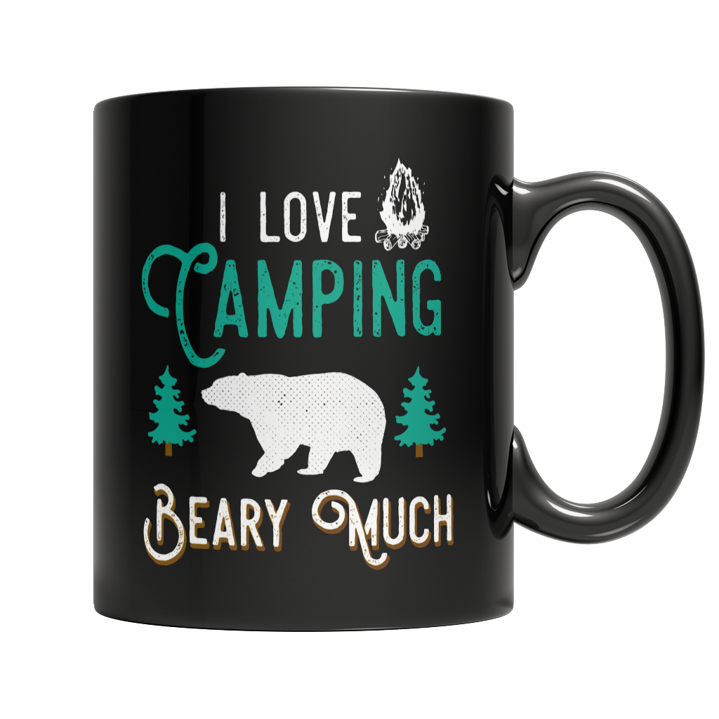 I Love Camping Beary Much
