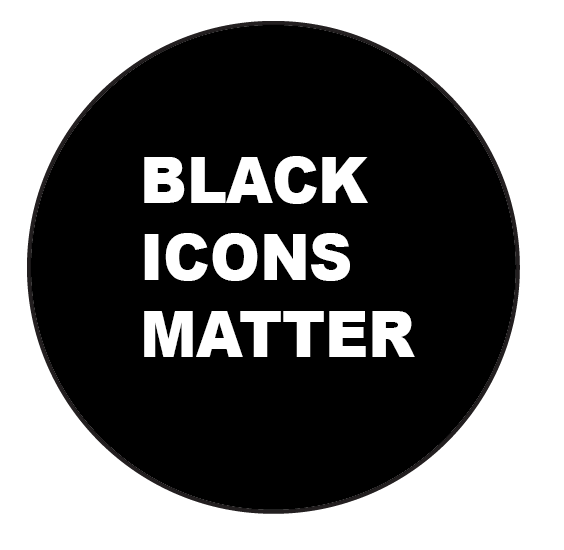 Black Icons |Button