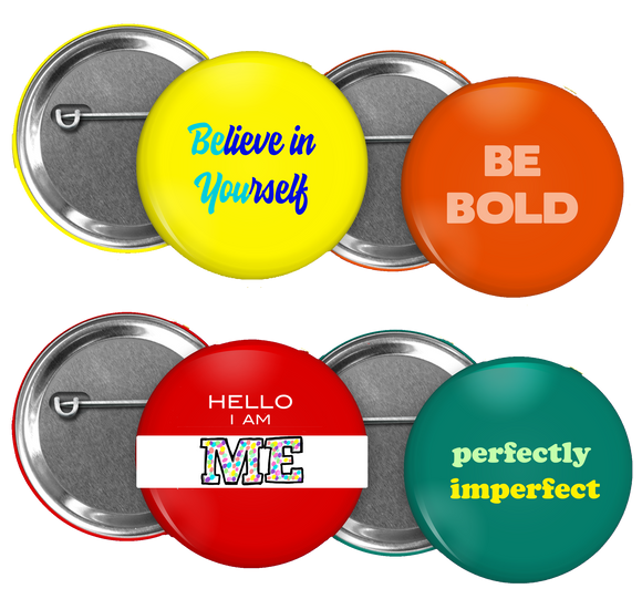 Be Bold Button Bundle