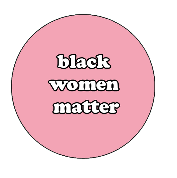 Black Women Matter Button