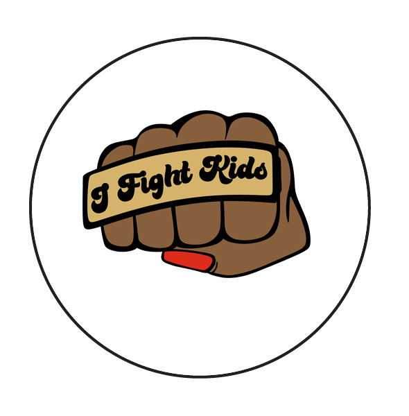 I Fight Kids| Button