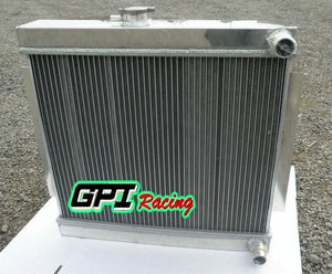 ALUMINUM  RADIATOR FOR MG MGB GT W/ROVER V8 ENGINE SWAP M/T 1977-1980 1978 79