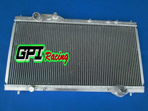 Aluminum radiator for Acura NSX NA1/NA2 C30/C32 3.0L/3.2L V6 1990-2005 MT 2Rows