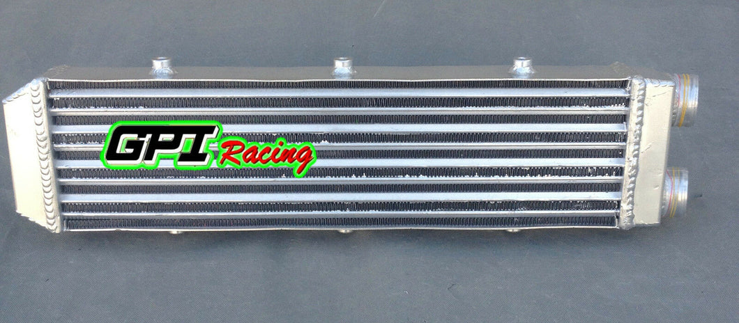 For Delta Fin Design One Sided Aluminum Intercooler 550x140x70mm 2.2