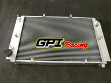 Load image into Gallery viewer, Fit Porsche 928 with Left oil cooler Full aluminum radiator 56mm CORE 2 Rows