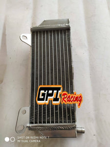 Left Fit Yamaha YZ450F YZ 450 F  2018 2019  aluminum radiator