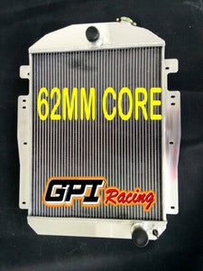 62mm Top-fill Radiator for Chevy/GMC Pickup/Truck W/Small Block V8 1937-1938 M/T