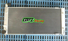 Load image into Gallery viewer, Aluminum radiator + fans for VW Golf 2 & Corrado VR6 Turbo Manual MT