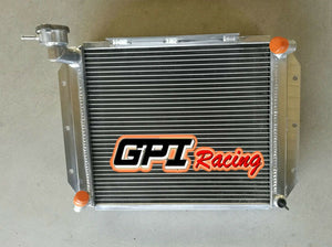 62MM ALUMINUM  RADIATOR CUSTOM FOR MG MGA 1500,1600, 1622, DE LUXE MT 1955-1962