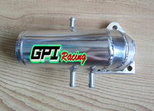 Load image into Gallery viewer, POLISHED ALUMINUM CARBURETTOR CARB PLENUM LOSTER TOP W/3CON. RENAULT 5 GT R9/R11