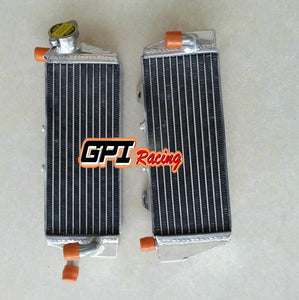 FOR KTM 125/150 SX/EXC 250/350 SX-F 2016-2018 2017 16 17 aluminum  radiator \