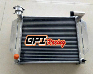 3 Row crossflow Aluminum Radiator For MG MGB BASE 1.8L 1962-1967 63 64 Manual