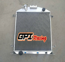Load image into Gallery viewer, Aluminum Radiator Fit Ford Model A W/Ford 302 V8 AUTO 1928-1929 28 29 56mm Core