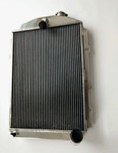 Load image into Gallery viewer, 62MM FOR CHEVY HOT/STREET ROD 6 CYL. W/TRANNY COOLER 1938 MT ALUMINUM RADIATOR