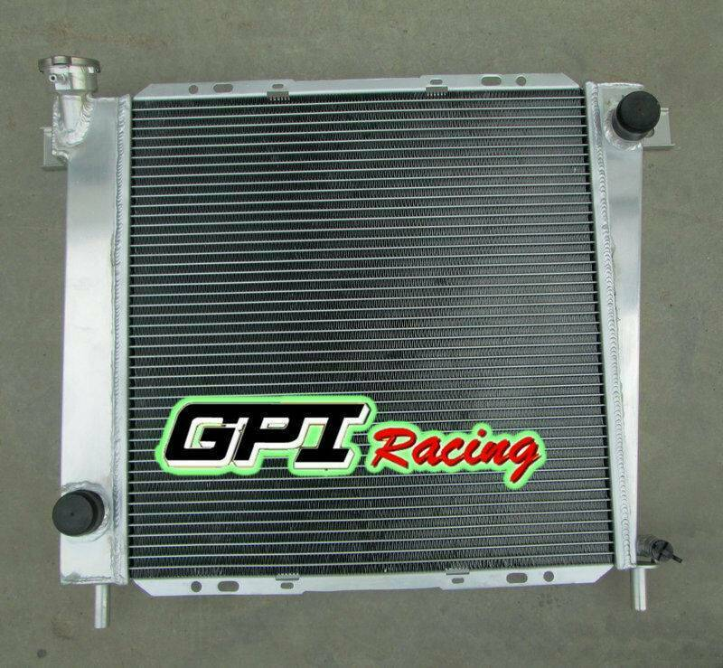 Aluminum Radiator FOR Ford Ranger 2.9L 3.0L V6 MT 1989-1992 1990 1991