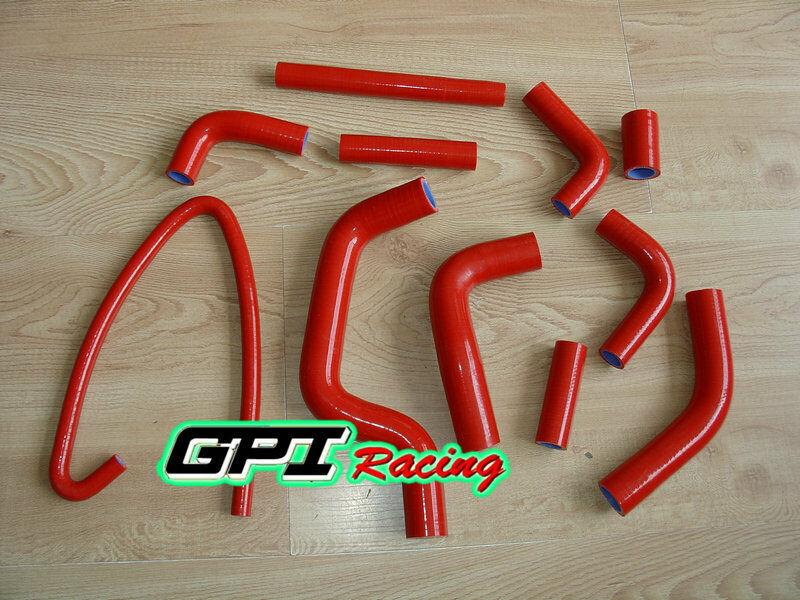 Silicone Radiator Hose Fit DUCATI MONSTER 2000S S4 2001-2002/S4R 2004-2008 2005