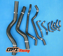Load image into Gallery viewer, SILICONE COOLANT&HEATER HOSE FOR  MITSUBISHI ECLIPSE GST/GSX TURBO 1990-1994,BLK