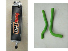 Load image into Gallery viewer, aluminum radiator & HOSE FOR Kawasaki KX 125 / KX125 1987-1989 1988 89 88
