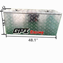 "Load image into Gallery viewer, 48.1""x17""x19.3"" Aluminum Truck Bed Camper Storage Tool Box Trailer Thickness2.5"""