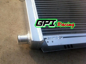 Aluminum Radiator&Fans For Lotus Elise&Exige Series 1&2 Vauxhall VX220 M/T 56MM
