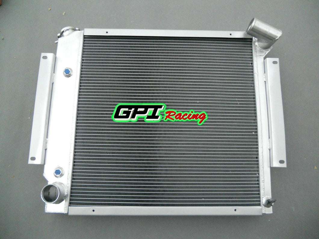 aluminum radiator FOR International Scout II & Pickup 5.0L 5.6L V8 1970-1981 75